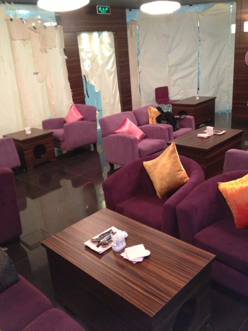 Their SWEET-CUTE seating area, a place for you to relax with your friends and family :D
